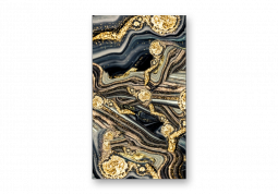 модульная картина Абстракция Мрамор. Золотой лабиринт