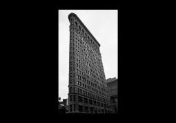 модульная картина Город. Нью-Йорк Флэтайрон Билдинг