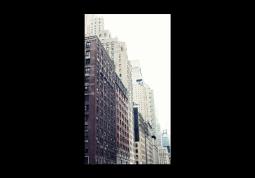 модульная картина Город. Нью Йорк Квартал 2