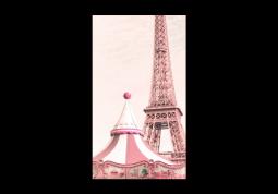 модульная картина Город. Карусель в Париже
