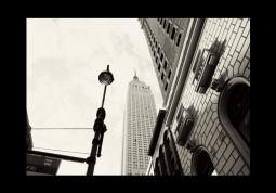 модульная картина Город. Нью-Йорк небоскреб