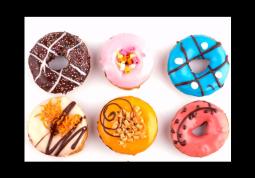 модульная картина Пончики