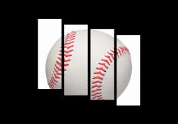 модульная картина Бейсбол